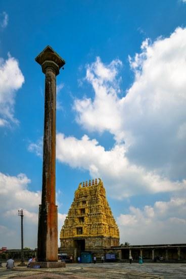 Gopuram and Temple Courtyard