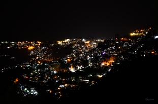 Darjeeling Town at night